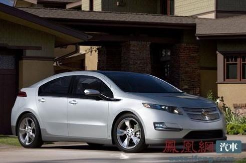 通用首款电动车雪佛兰Volt售价公布 合27.79万起高清图片
